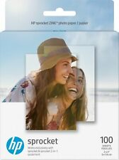 """HP - Sprocket ZINK Photo 2"""" x 3"""" 100-Count Paper - White"""