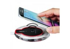Qi Wireless Fast Charger Dock Charging Pad+Receiver For SAMSUNG