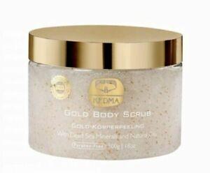 KEDMA Kedem Gold Body Salt Scrub - with Dead Sea Minerals - New and Sealed