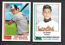 CAL RIPKEN JR 2001 Topps 50th  Orioles 1982 RC Traded Rookie Reprint SP Lot
