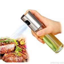 Pulverizador de aceite Dispensador de acero inoxidable Botella Spray de cocción