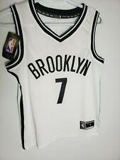 NBA Brooklyn Nets # 7 Kevin Durant Jersey Youth Size . stitches
