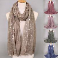 Women's Ladies Scarf Shawl Muslim Wraps Hijab Stole Scarves Head Cover Girl Wrap
