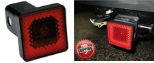 """Bully CR-007A Tail & Brake Light 2"""" Hitch Receiver Cover Plug New Free Shipping"""