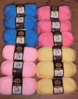 Lion Brand Jamie Yarn, Solids, 50g, Lot of 3 Skeins, *You Choose Color*