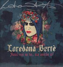 """LOREDANA BERTE' - 2 LP 33 GIRI CON AUTOGRAFO """" AMICI NON NE HO ... MA AMICHE SI"""""""