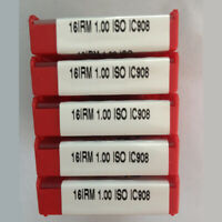 ISCAR 16IRM 1.00ISO IC908 Threaded blade Carbide Inserts 10Pcs