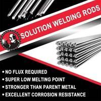 10pcs Solution Welding Flux-Cored Rods Aluminum Wire Brazing Tool 33cm 2.0mm