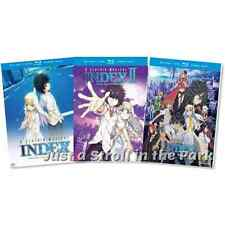 A Certain Magical Index: TV Series Complete Seasons 1 & 2 + Movie Box/DVD Set(s)