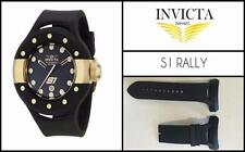 NEW Silicone Rubber Watch Band Strap For Invicta S1 Rally - FITS MOST MODELS