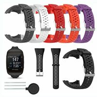 Für Polar M400 M430 GPS Uhr Watch Silikon Uhrenarmband Armband Strap + Werkzeuge