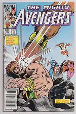 The Mighty Avengers 252 FNVF Newsstand Variant Hercules Doc Samson Marvel Comic
