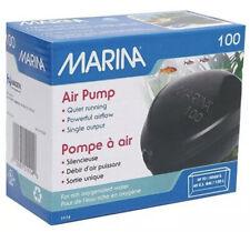 Marina Air Pump 100 Aquarium Fish Tank Air Bubbles Oxygen Water Aeration