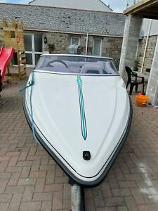 Fletcher arrowflyte 14 black max speedboat 75hp mariner two stroke with trailer