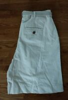 NWT BASIC EDITIONS Belted Pleated Constructed Khaki Beige Shorts Women's Sz 14