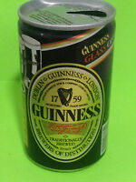 EMPTY BEER CAN 330ml. LATA CERVEZA - GUINNESS GLASS OFFER - 1990 (CAN132)
