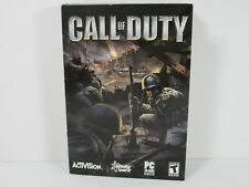 Original Call of Duty Video Game for PC with Box and Manual