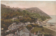 """Devon Postcard - Lynton and Lynmouth from """"The Tors""""    A9631"""