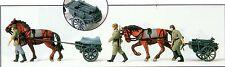 Preiser 16576 Militaire deux Bataille CHARIOTS non Peinte Empire allemand