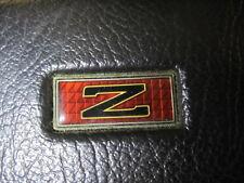 NISSAN 300ZX 300 ZX 86 1986 STEERING WHEEL HORN PAD w/ EMBLEM + CONTACT PLATE