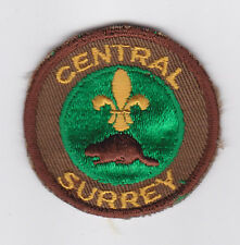 SCOUT OF CANADA - CANADIAN SCOUTS BRITISH COLUMBIA (BC) CENTRAL SURREY Patch
