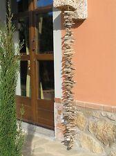 Girlande Windspiel 1,40m Treibholz Holz natur Shabby chic Dekoration Garten XL