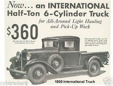 1930 International Truck  Refrigerator Magnet