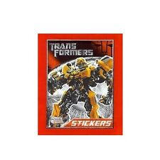 TRANSFORMERS STICKERs COLLECTION - STICKER ALBUM RED - OPTIMUS PRIME COVER