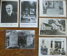 Set of 6 Vintage Calvin Coolidge Postcards