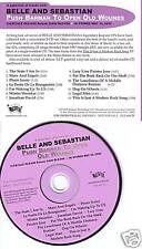 BELLE AND SEBASTIAN Push Barman SAMPLER ADVNC PROMO CD