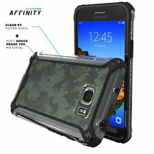 POETIC Affinity Premium Thin+Bumper Case For Samsung Galaxy S7 Active Black