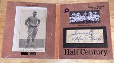 2020 Historic Autographs Half Century Heinie Groh 1917 E135 Cut Auto Beckett /3