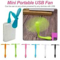Universal USB Fan Travel Mini Portable Hand Held Cooling Cooler Mobile Phon R2P6