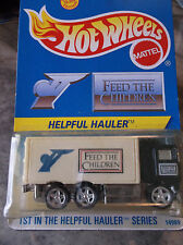 HOT WHEELS  LIMITED EDITION HELPFUL HAULER FEED THE CHILDREN
