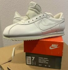 rare size 7 Vintage Nike Cortez 1993 new in box leather - white