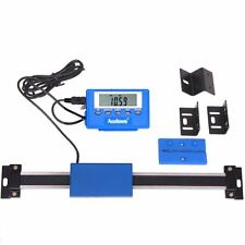 "6"" Stainless Steel Digital Remote Readout DRO Quill Table Scale for Mill Lathe"