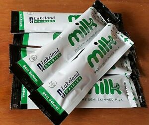 UHT Milk in a stick BB 02/04/2022 Lakeland  Sachets Portion NEW STOCK