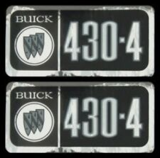 BUICK 1967, 1968 & 1969 430-4V Valve Cover Decal Set