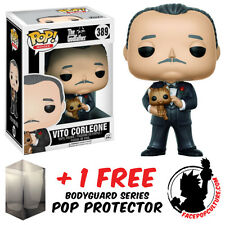 FUNKO POP GODFATHER VITO CORLEONE VINYL FIGURE + FREE POP PROTECTOR
