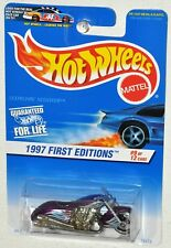 Hot Wheels 1997 First Editions #9 Scorchin' Scooter purple Moc Collector #519
