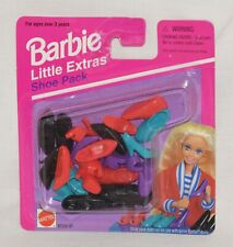 Barbie Little Extras So Many Shoes 1994/1995 Mattel Original Package