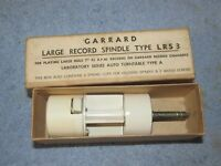 Vintage GARRARD Large Record Spindle LRS 3 45rpm Single Size w/Box J0969