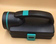 Black & Green Flashlight Case with Screwdriver,