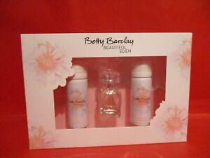 Betty Barclay Beautiful Eden Set 20ml EDT 50ml Duschschaum 50ml Körperschaum