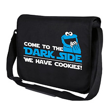 Come to the dark side, we have i cookie   NERO   BORSA TRACOLLA   Messenger Bag