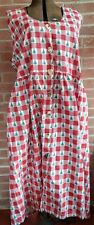 J.G. Hook Dress Women Size 3X Christmas Dress Holiday Pockets -Stained