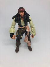 Disney Pirates Of The Caribbean Captain Jack Sparrow Zizzle Loose Figure