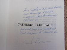ENVOI AUTOGRAPHE à Sophie & Bernard Fresson / CATHERINE COURAGE J.Duquesne