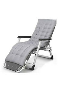 REPLACEMENT Recliners Simple Beach Bed Pregnant Chair Cotton Pad Removable
