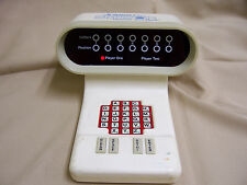 VINTAGE BATTERY POWERED SCRABBLE SENSOR ELECTRONIC LED WORD GAME
